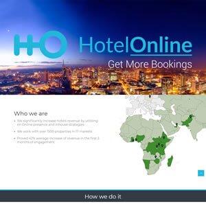 HotelOnline Landing Page